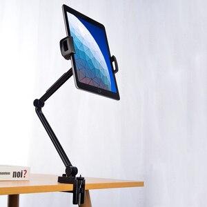 Гибкая подставка для планшета с длинной рукояткой для Ipad 12,9 Pro 11 Surface Go Huawei Xiaomi Samsung
