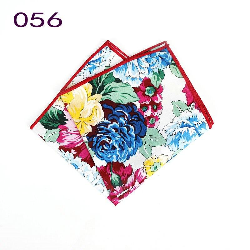 Image 3 - Совершенно новый стиль мужские цветные носовые платки винтажные платки с цветочным узором мужские квадранные Карманные Платки с розами ПейслиМужские галстуки и носовые платки    АлиЭкспресс