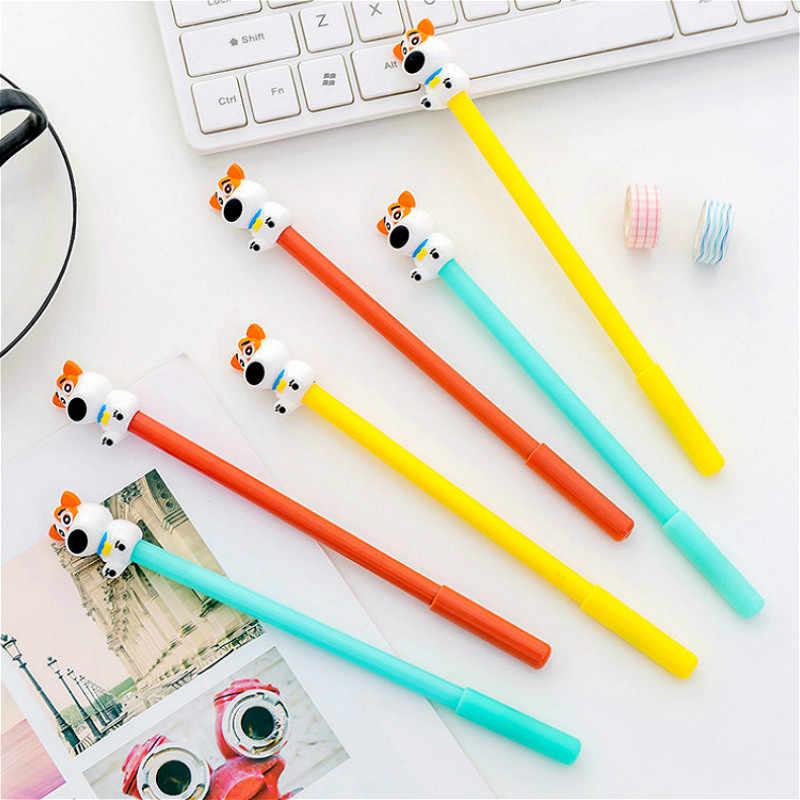 1 pçs filhote de cachorro colorido neutro caneta festa favores personalizados favores de casamento chá de bebê festa de aniversário do dia das mães presente