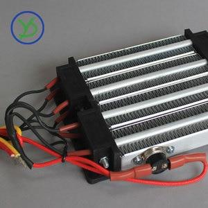 Image 5 - AC DC 220V 1000W Isolierte PTC keramik luft heizung 140*102mm Elektrische heizung Teile