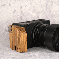 Creative Camera Cage Wooden Camera Handgrip For Sigma FP Cameras Video Shooting Mount Cage Holder Accessories