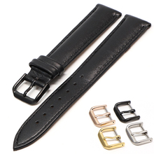 New arrived High Quality 14MM 16MM 18MM 20MM 22MM 24MM Bracelet Genuine Leather Band Watch black brown