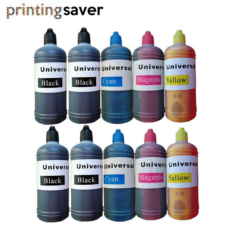 10x T1285 Refill Dye Inkt Kit Voor Epson Stylus S22 SX125 SX130 SX230 SX235W SX420W SX425W SX430W SX435 438W 440W Ciss Printer