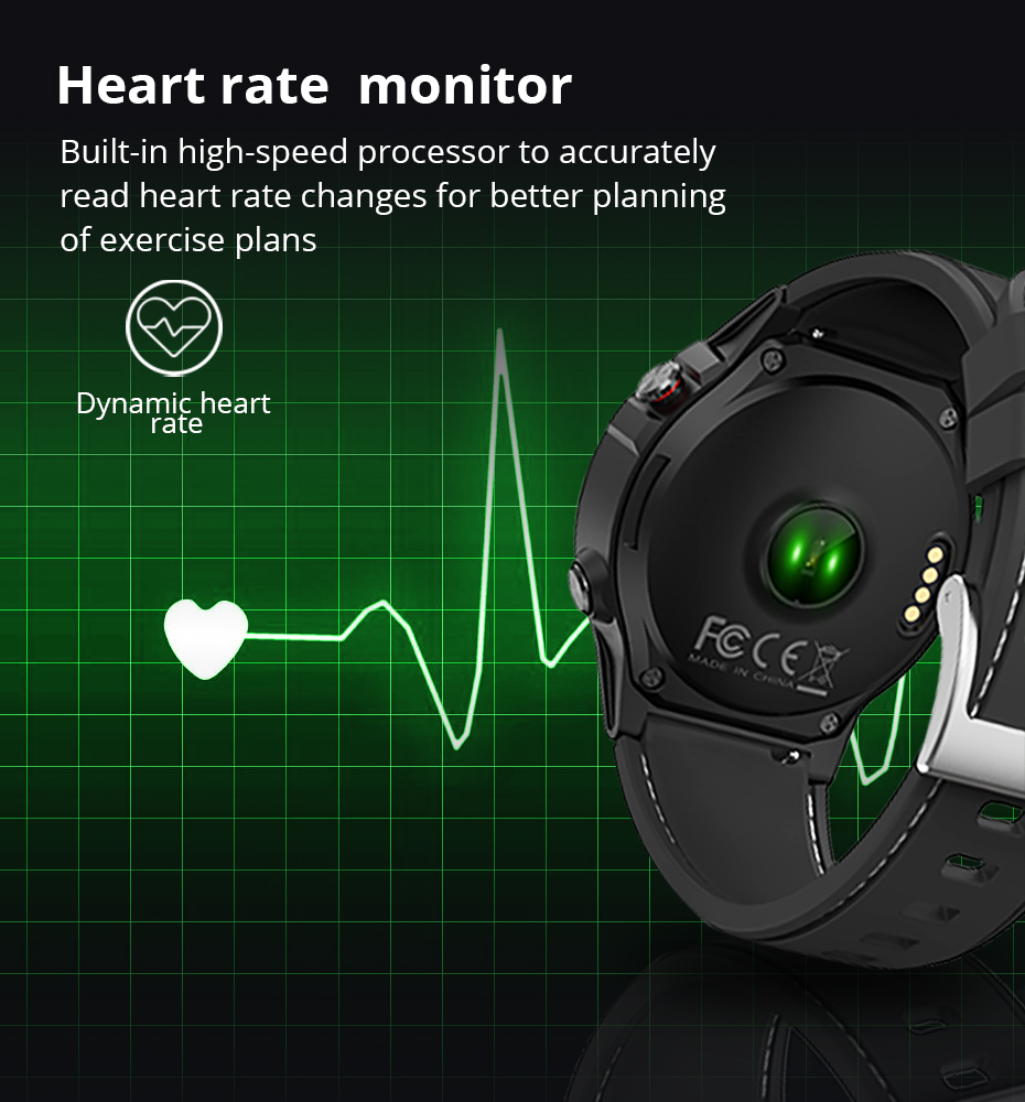 Makibes G58 Smart watch Compass Multi-language GPS Men Sport Heart Rate Monitor Call Message Reminder Activity Fitness trackerG58_09