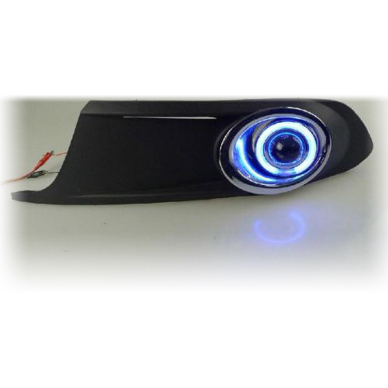 Купить светодиодные кольца «ангельские глазки» cob передняя линза проектора