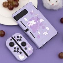 Funda bonita para Nintendo Switch, accesorios para Nintendo Switch, carcasa suave de TPU, colorida, novedad de 2021