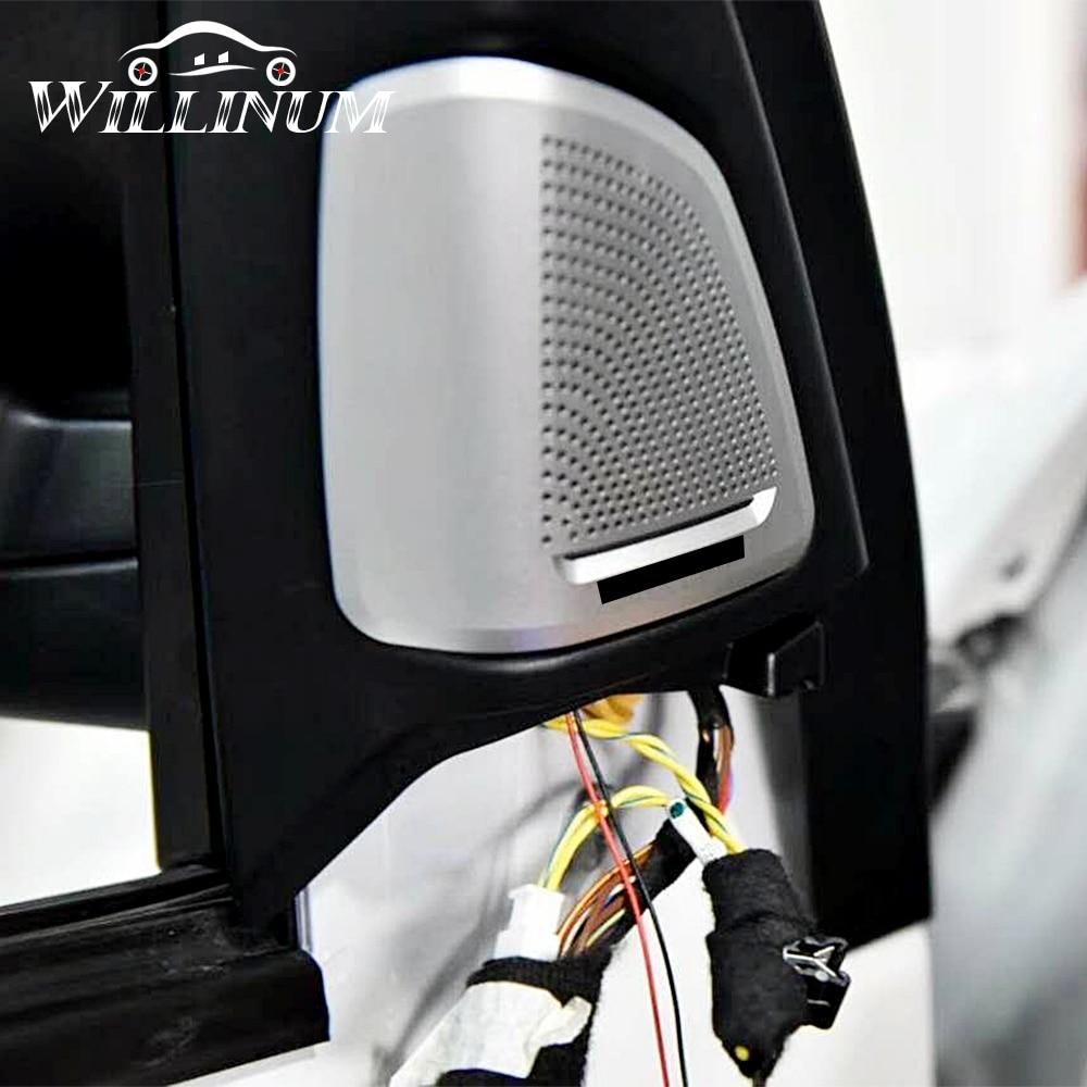 Car speaker cover for BMW F15 F16 X5 X6 auto front door tweeter case head treble horn audio loudspeaker trumpet trump shell trim