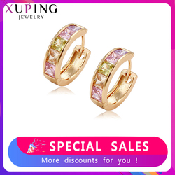 Xuping Jewelry Fashion Elegant Earrings With Synthesis Cubic Zirconia for Women Valentine's Day Jewelry Gift Y15-20350