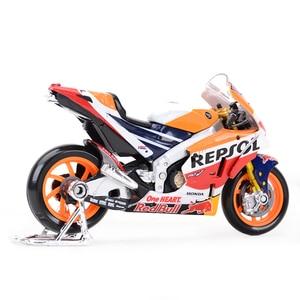 Image 3 - Maisto 1:18 2018 GP Racing Honda RC213V Repsol Honda Team 26# 93# Die Cast Vehicles Collectible Motorcycle Model Toys