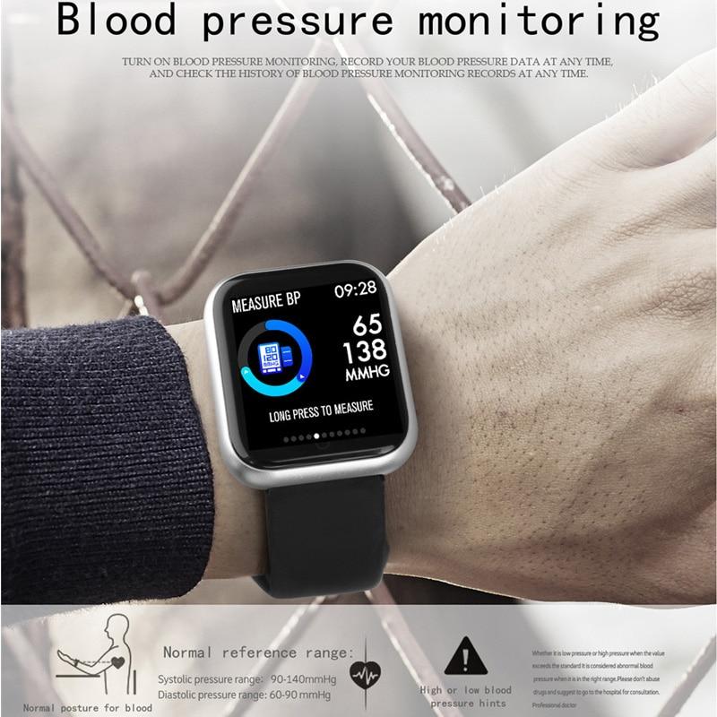 Умные часы артериальное давление IP67 водонепроницаемый smartwatch в 2020 сердечного ритма фитнес трекер спортивные женские часы для Андроид iOS