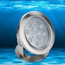 12W RGB LED Underwater Light IP68 Waterproof Fountain Lamp For Outdoor Swimming Pool Energy Saving