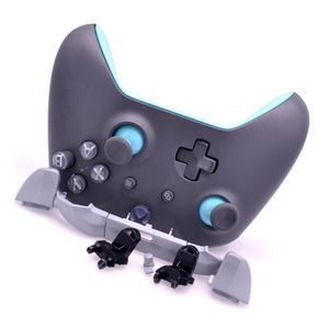 Image 3 - Original FULL SHELL Housing Replacement + LBRB Thumbstick Buttons for Xbox One Controller 1708 Grey/Blue Phantom Special Edition