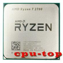 AMD Ryzen 7 2700, 3,2 GHz Acht Core Sinteen Gewinde 16M 65W CPU Prozessor YD2700BBM88AF Buchse AM4