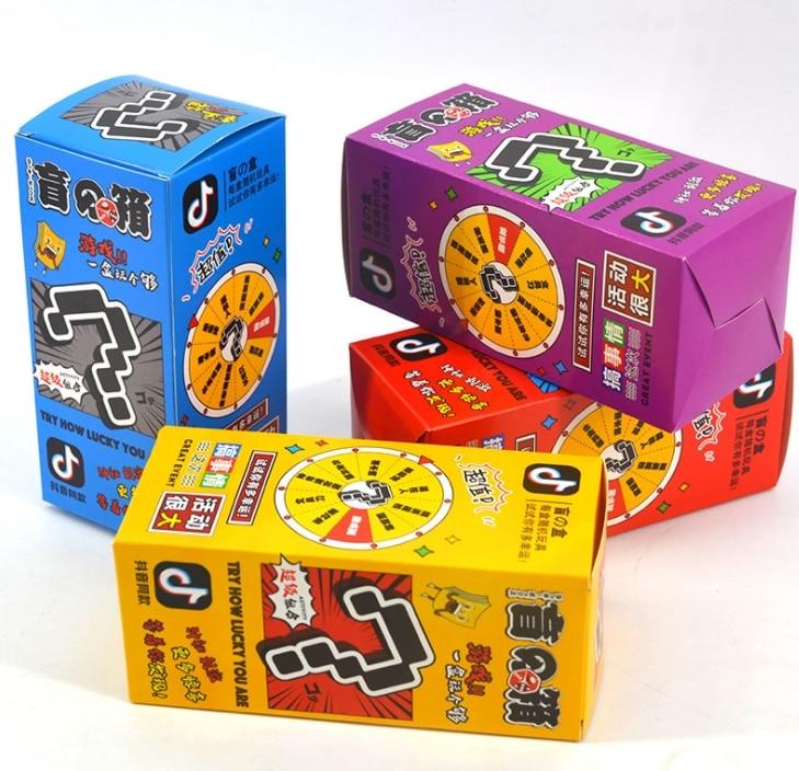Случайный сюрприз Lucky Европейский японский мультяшная аниме-фигурка модель игрушки благословение сумку подарочной коробке игрушка глухая ...
