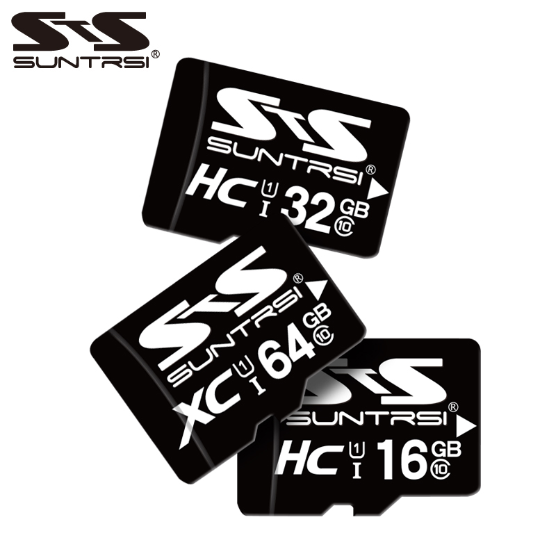 Suntrsi Micro SD Card 32GB 16GB SDHC+Class 6 C6 TF Usb Flash Memory Card 8GB 4GB Original Product High Speed For Phone Camera