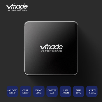 Vmade H.265/HEVC HD 4K Android 7.1 2+16GB IPTV M3U TV Box Support Youtube Netflix WIFI Smart Media Player Amlogic S905W 5pcs lot meelo tvip s805 quad core linux iptv m3u smart tv box support web portal h 265 stalker wifi 2 4g smart media player 250