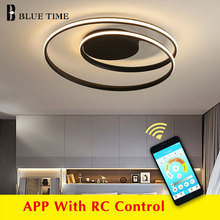 New Modern Ceiling Light For Living room Bedroom Dining room White&Black Aluminum alloy Ceiling Lamp Light Fixtures 110v 220v outdoor ceiling light outdoor ceiling walking light ventilation garden villa continental locker room kitchen aluminum alloy z