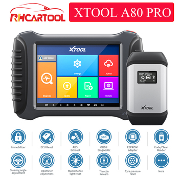 XTOOL A80 Pro Automotive OBD2 Diagnostic Tool For Toyota For Ford For Bmw With ECU PIN Coding/Programmer Scanner Best H6 Pro