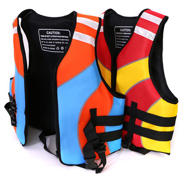 Outdoor Water Sports rafting PEF Life Jacket for adult swimming snorkeling wear fishing Kayaking Boating suit Drifting image