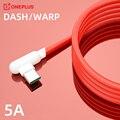 90 градусов Usb 3,1 Тип C Warp зарядный кабель 5A тире Зарядное устройство кабель для One Plus Nord Oneplus 9 8 Pro 9R фотокамеры мгновенного действия 8 7t N10 5g быст...
