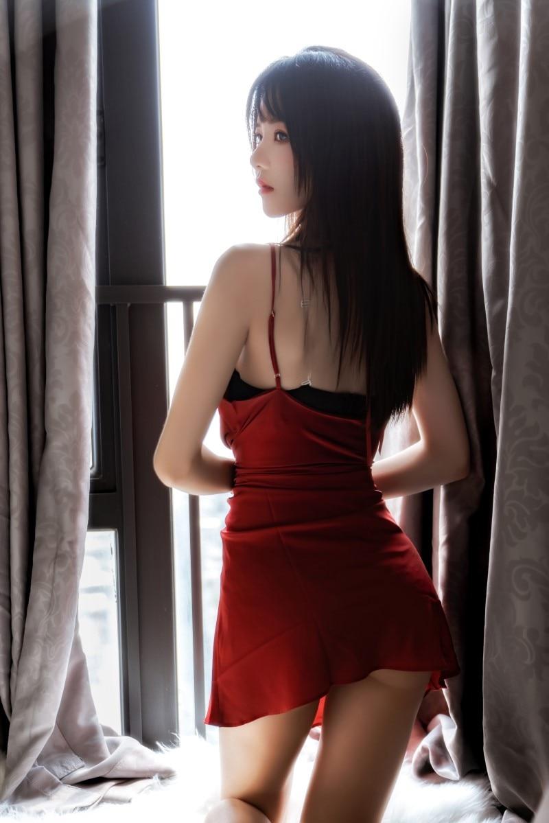 微博红人★桜桃喵★cos-千丝万缕的红 [69P/1.1G]插图(1)