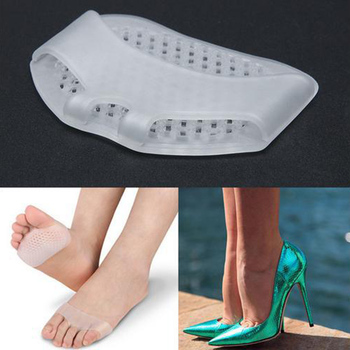 1 Pair Honeycomb Forefoot Cushion Foot Care Pad High Heel Pad
