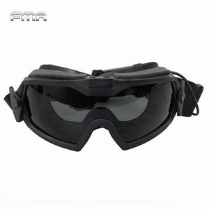 Regulator-Goggles Glasses-Eyewear FMA LPG01BK12-2R Tactical Safety-Eye-Protection