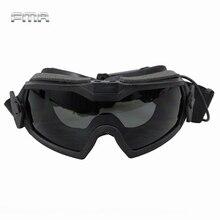 Защитные очки для пейнтбола FMA, очки с вентилятором и регулятором для пейнтбола, тактические Защитные очки для страйкбола, обновленная версия