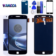 For Motorola Moto Z Play 5.5 inch LCD Display XT1635 Touch Screen Digitizer 1920*1080  Assembly with Free Tempered Glass