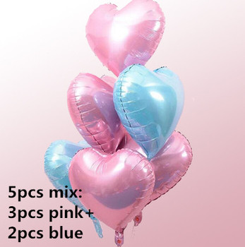 1PC 100*97CM Pink Horse Little Pony Unicorn Foil Balloons Helium Balloon Kids Toys Wedding Birthday Animal Party Decor Supplies 16