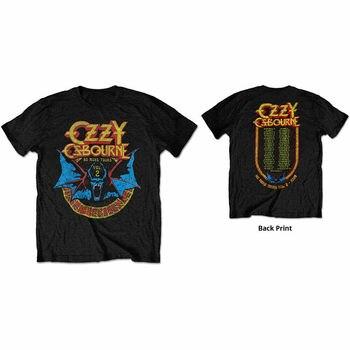 Ozzy Osbourne bate círculo impresión al dorso T Mens camisa Unisex camiseta oficial Merch