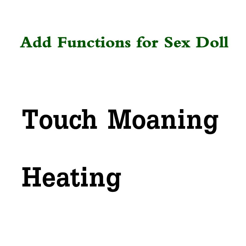 Silicone Sex Dolls Touch Moaning Function For Real Doll, Heating For Love Doll Sex Doll Realistic