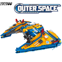 Compatible legoinglys Star Wars building construction Toy Ausini Outer Space Ship Building Blocks Toys For Children Boy Gifts