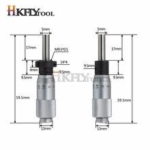 0-13 мм круглая игольчатая головка микрометра измерительная Мера Инструмент 0-6,5 мм дальномер Точность 0,01 мм плоская резьба