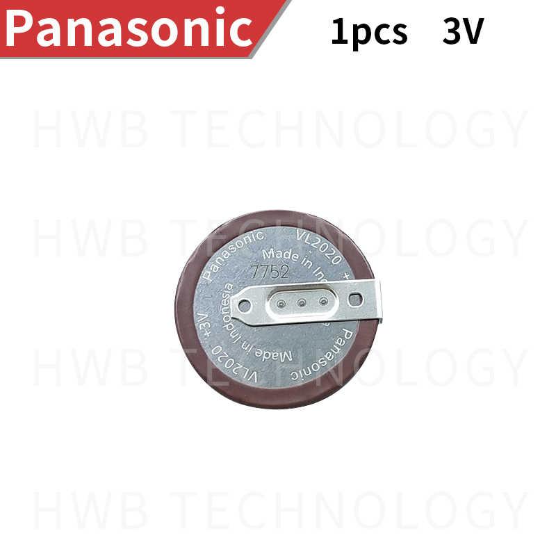 100% Orijinal Yeni PANASONIC VL2020 Araba Anahtarlık şarj edilebilir pil Için Ücretsiz Kargo VL 2020 Ücretsiz kargo