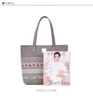 Women's one shoulder bag fashion trend leisure ethnic style tote bag women's bag canvas bag hand bag shopping bag