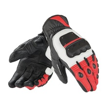 New 3 color 100% leather 4 STROKE EVO motorcycle gloves M1 racing motocross professional short