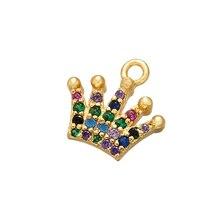 ZHUKOU кристалл латунь Снежинка Кулон Морская звезда кулон для женщин DIY ожерелье серьги ювелирные аксессуары Модель: VD535