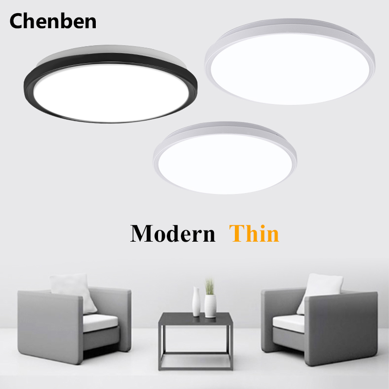 Modern Led Ceiling Lamps Surface Mounted Led Ceiling Lights Luminaire For Living Room Bed Room Hall  Ultra Thin Ceiling Lighting
