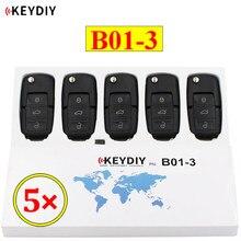 5 pçs/lote KEYDIY B série B01-3 3 botão de controle remoto universal para KD900 URG200 KD-X2 mini KD para gerar um novo remoto