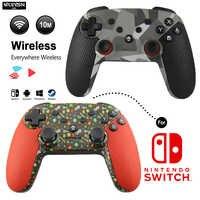 WUIYBN Neue Schalter Pro Controller Drahtlose Bluetooth NS Gamepad Joystick Für Nintendo lite Spiel maschine/PC/Android/ dampf