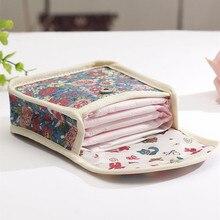 Гигиенические прокладки Сумки влажная сумка многоразовая сумка для мамы тканевые прокладки менструальная салфетка также может быть монета макияж сумка Макияж инструмент