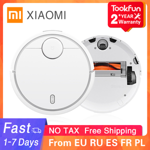 Image 1 - 2020 XIAOMI Original MIJIA Robot Vacuum Cleaner for Home Automatic Sweeping Dust Sterilize Smart Planned WIFI App Remote Control