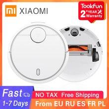 XIAOMI Robot aspirador MIJIA Original para el hogar, barrido automático, esterilizador de polvo, aplicación remota inteligente planificada, 2020
