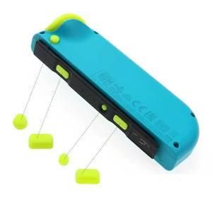 Image 3 - YuXi For NS Joy Con SL SR L R ZL ZR Trigger Full Set Buttons ABXY Direction Keys Button Replacement For Nintend Switch Joycon