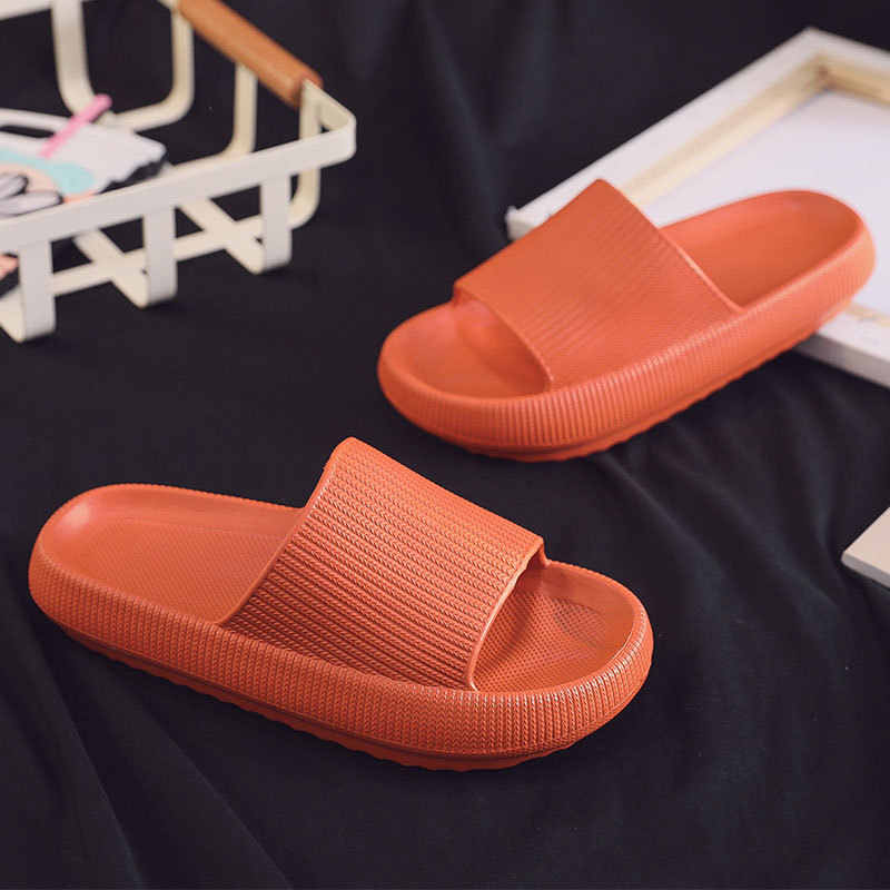 Bathroom Thick Soled Slippers Female