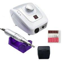 35000/20000 Rpm Electric Nail Boor Machine Manicure Pedicure Met 6 Cutter Nail Boren Kit Manicure Boren & Accessoires
