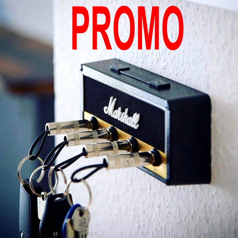 Keychain-Holder Key-Rack Amplifier Guitar Marshall Wall JCM800 Vintage Electric Gift