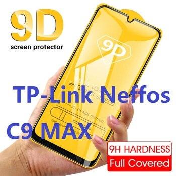Перейти на Алиэкспресс и купить 3D полное покрытие Tmpered стеклянная защитная пленка HD 9H Защитная пленка для TP-Link neffos c9 c 9 MAX закаленное стекло