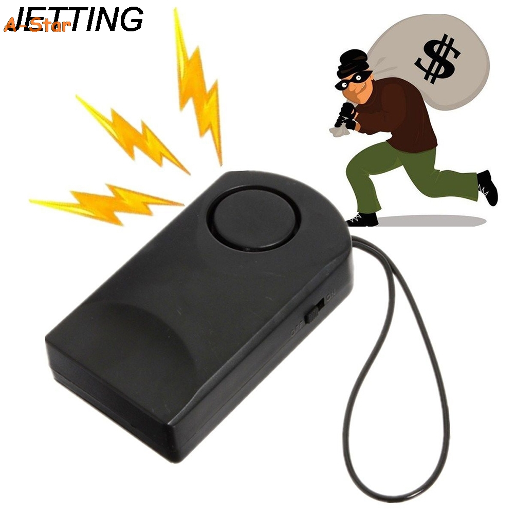 120DB Loud Wireless Touch Sensor Door Knob Entry Alarm Alert